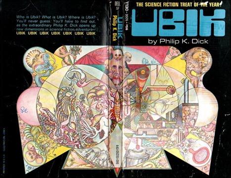 Estupenda portada para Ubik para una edicion estadounidense
