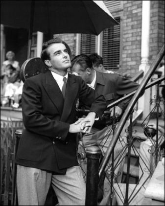 La mirada noble de Montgomery Clift