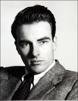 Montgomery Clift, en plena juventud