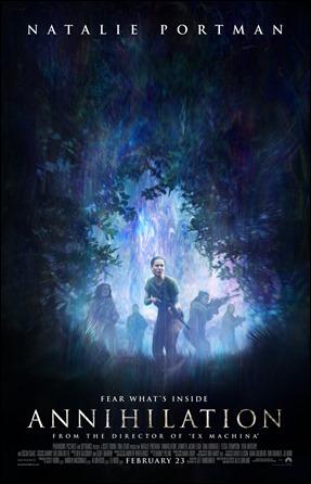 Poster de Aniquilacion, pelicula de Alex Garland