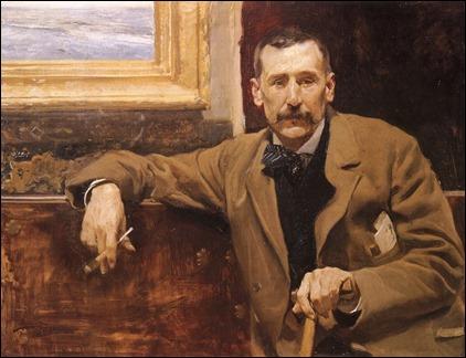 Retrato de Benito Perez Galdos, por Sorolla