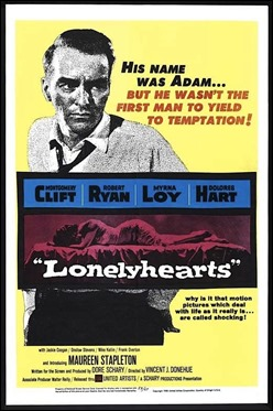 Cartel original de Lonelyhearts
