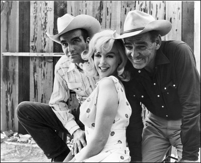 Clift, Monroe, Gable, the misfits