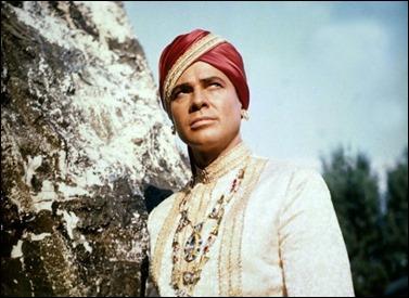 Inolvidable Walther Reyer como el maharajá Chandra