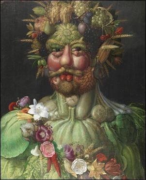 Retrato de Rodolfo II como Vertumno, por Arcimboldo