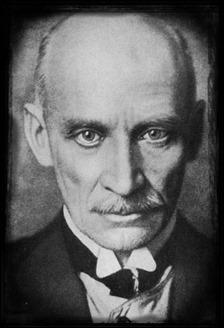 Gustav Meyrink, en su ancianidad