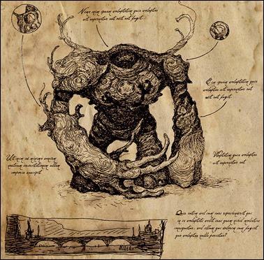 Ilustración del Golem