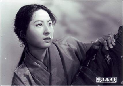 Kyoko Kagawa es Anju en El intendente Sansho