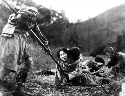 Miyagi sufre los infortunios de la guerra