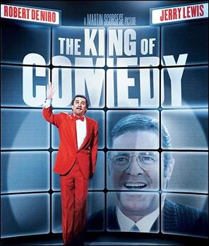 Cartel original de El rey de la comedia