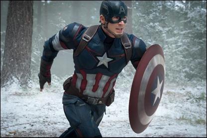 Chris Evans, excelente Capitan America