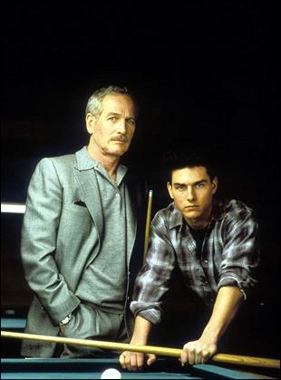 El maestro Newman y el discípulo Cruise, en El color del dinero