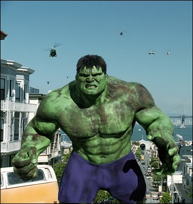 Hulk, version Ang Lee