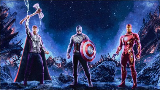 Los tres lideres iconicos del Universo Cinematico Marvel