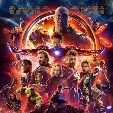 Los Vengadores contra Thanos en Infinity War