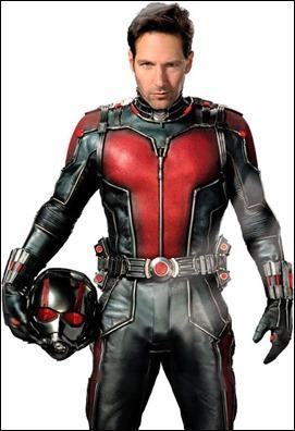Paul Rudd, excelente como Ant-Man