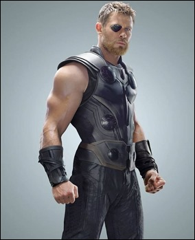 Sam Hemsworth, Thor con parche