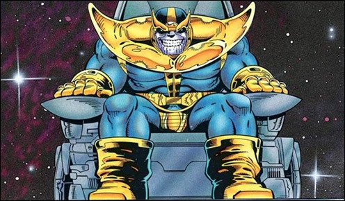 Thanos, por Ron Lim