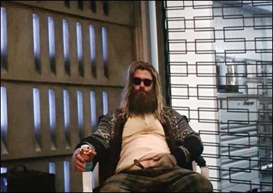 Thor gordo en Vengadores endgame