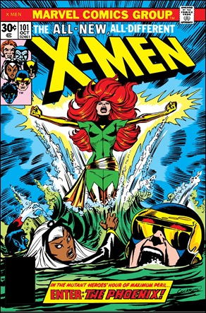 Fenix nace en el 101 de The X-Men
