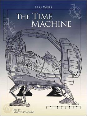Ilustracion de Matteo Colombo para otra edicion de La maquina del tiempo