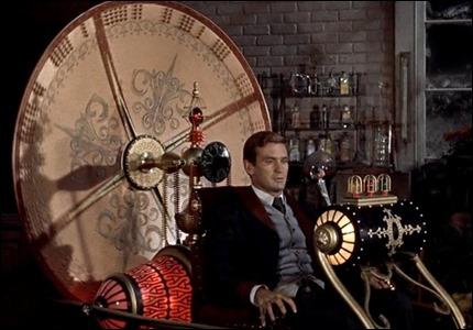 Rod Taylor, viajero del tiempo en batin
