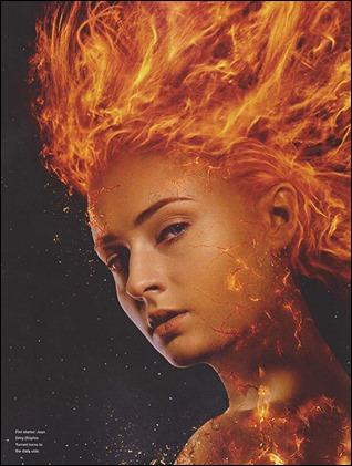 Sophie Turner es Jean Grey en X-Men Fenix Oscura