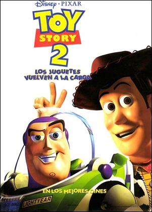 Cartel espanol de Toy Story 2