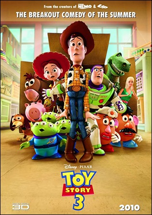 Cartel original de Toy Story 3