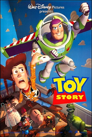 Cartel original del primer Toy Story