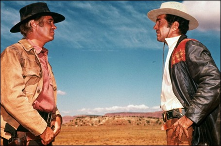 George Peppard vs Dean Martin en Noche de titanes