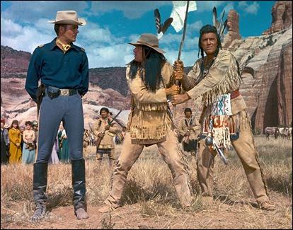 Martin Landau en La batalla de las colinas del whisky