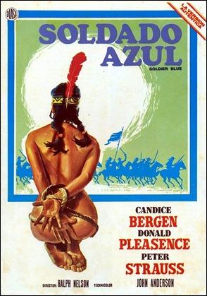Poster espanol de Soldado azul