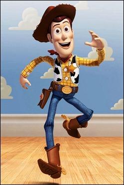Woody, el estupendo personaje central de la saga Toy Story