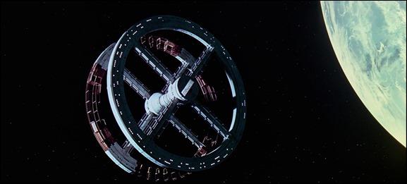 La estación espacial de 2001