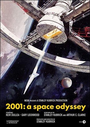 Poster original de 2001 una odisea en el espacio
