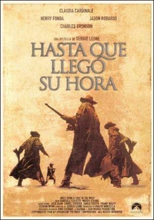 Cartel español de Hasta que llego su hora