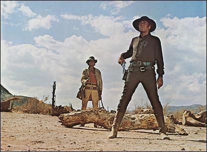 Duelo a muerte entre Armonica y Frank, Charles Bronson y Henry Fonda