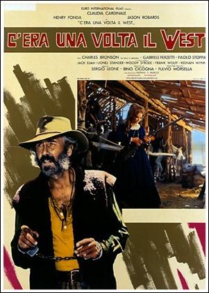 Jason Robards como Cheyenne en uno de los carteles de Hasta que llego su hora