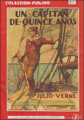 Un capitan de quince años, en edicion Molino