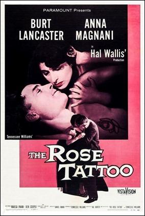 Cartel de La rosa tatuada