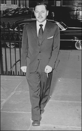 El gran dramaturgo Tennessee Williams