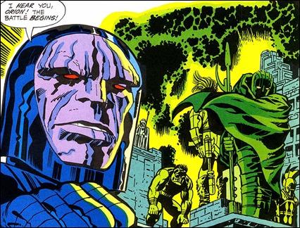 Inmortal Darkseid, de Jack Kirby