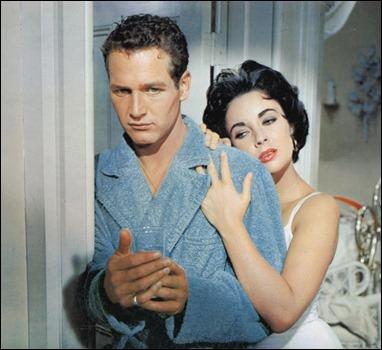 Paul Newman y Elizabeth Taylor, inolvidables en La gata sobre el tejado de zinc