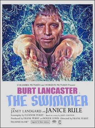 Poster de El nadador, de Frank Perry