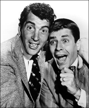 Dean Martin y Jerry Lewis, magnifica pareja comica