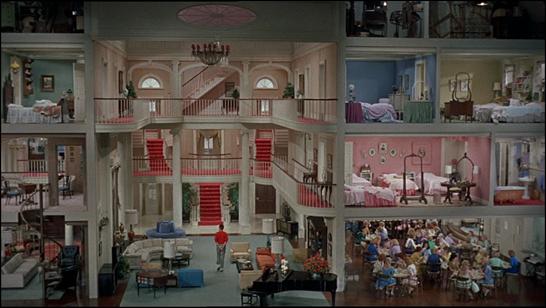 El fabuloso set de El terror de las chicas, de Jerry Lewis