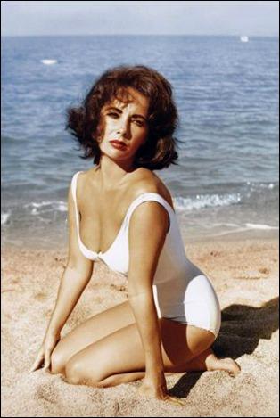 Elizabeth Taylor, increiblemente sensual en De repente, el ultimo verano