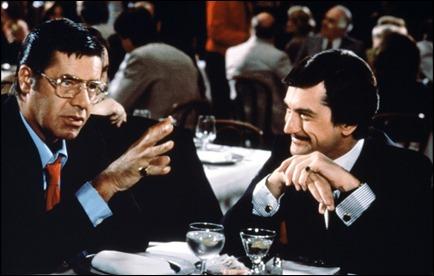 Lewis y De Niro, en El rey de la comedia