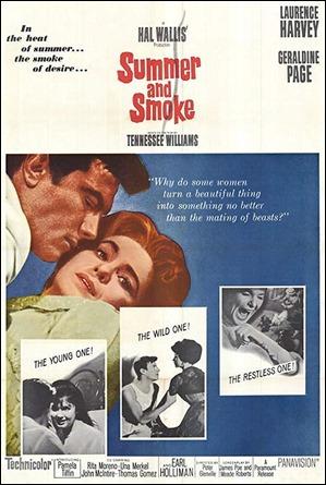 Poster original de Verano y humo